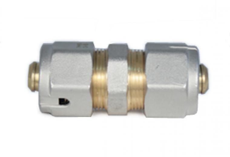 16mm Underfloor heating1 pipe connector complete