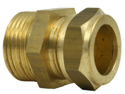 22mm Straight Compression Coupler