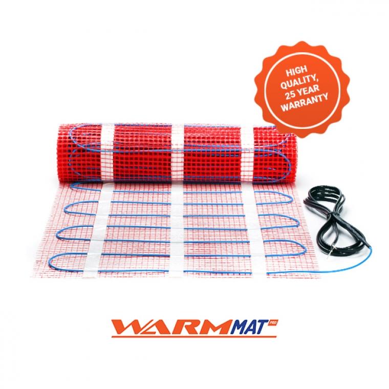 WarmMat Pro - Electric Underfloor Heating Mats (150W/m²)